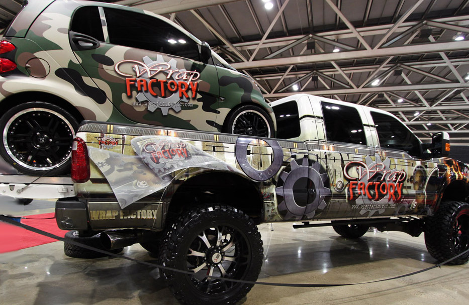 Wrap Factory Kc Number 1 In Vehicle Wraps In The